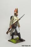 Регулярная пехота 1812-14 гг. Рядовой в походной колонне - Оловянный солдатик коллекционная роспись 54 мм. Все оловянные солдатики расписываются художником в ручную
