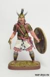 Агамемнон, царь Микен и Аргоса, XII в до н.э. - Оловянный солдатик коллекционная роспись 54 мм. Все оловянные солдатики расписываются художником в ручную