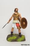 Иуда Маккавей, Предводитель Маккавеев, 167-160 до н.э. - Оловянный солдатик коллекционная роспись 54 мм. Все оловянные солдатики расписываются художником в ручную