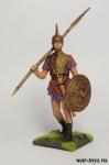 Италик-виланова 4 в до н.э. - Оловянный солдатик коллекционная роспись 54 мм. Все оловянные солдатики расписываются художником в ручную