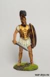 Греческий гоплит - Оловянный солдатик коллекционная роспись 54 мм. Все оловянные солдатики расписываются художником в ручную