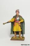 Казацкий полковник. Украина, 17 век - Оловянный солдатик коллекционная роспись 54 мм. Все оловянные солдатики расписываются художником в ручную