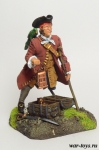 Пират Джон Сильвер - Оловянный солдатик коллекционная роспись 54 мм. Все оловянные солдатики расписываются художником в ручную