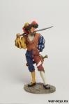 Ландскнехт-доппельзольднер - Оловянный солдатик коллекционная роспись 54 мм. Все оловянные солдатики расписываются художником в ручную