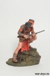 Воин племени Апачи, 1860-1880 - Оловянный солдатик коллекционная роспись 54 мм. Все оловянные солдатики расписываются художником в ручную