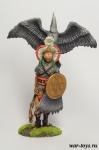 Командир Тласкаланцев - Оловянный солдатик коллекционная роспись 54 мм. Все оловянные солдатики расписываются художником в ручную