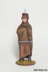 Шаман племени Хидатса - Оловянный солдатик коллекционная роспись 54 мм. Все оловянные солдатики расписываются художником в ручную