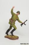 Командир РККА - Оловянный солдатик коллекционная роспись 54 мм. Все оловянные солдатики расписываются художником в ручную
