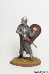 Рыцарь-госпитальер - Оловянный солдатик коллекционная роспись 54 мм. Все оловянные солдатики расписываются художником в ручную