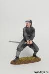 Ронин с катаной - Оловянный солдатик коллекционная роспись 54 мм. Все оловянные солдатики расписываются художником в ручную