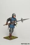 Европейская пехота, конец 15 века. Наёмный пехотинец - Оловянный солдатик коллекционная роспись 54 мм. Все оловянные солдатики расписываются художником в ручную