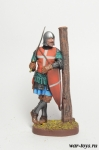 Рыцарь Святого Иоанна - XIV век - Оловянный солдатик коллекционная роспись 54 мм. Все оловянные солдатики расписываются художником в ручную