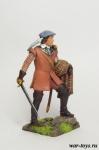 Шотландские кланы 17-18 век. Лорд - Оловянный солдатик коллекционная роспись 54 мм. Все оловянные солдатики расписываются художником в ручную