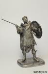 Каракалла, Римский Император, 188-217 гг н.э. - Оловянный солдатик. Чернение. Высота солдатика 54 мм