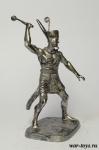 Нармер, Фараон Нижнего Египта, 3000 до н.э. - Оловянный солдатик. Чернение. Высота солдатика 54 мм