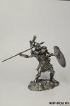 Римский Трибун - Оловянный солдатик. Чернение. Высота солдатика 54 мм