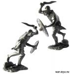 Карфагенский воин-адирмахид, 3-2 вв до н. э. - Оловянный солдатик. Чернение. Высота солдатика 54 мм