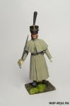 Регулярная пехота 1812-14 гг. Обер-офицер в шеренге