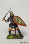 Русский воин-дружинник, 13 век