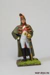 Драгун караула в шинели 1813 - Оловянный солдатик коллекционная роспись 54 мм. Все оловянные солдатики расписываются художником в ручную