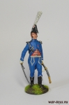 Офицер гвардейской морской пехоты, Франция, 1810 г.