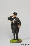 Офицер, Германия, 1941 г. - Оловянный солдатик коллекционная роспись 54 мм. Все оловянные солдатики расписываются художником в ручную