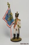 Офицер-знаменосец линейного полка