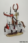 Ландмейстер Тевтонского ордена XIII в - Оловянный солдатик коллекционная роспись 54 мм. Все оловянные солдатики расписываются художником в ручную