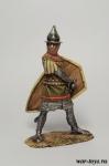 Византийский пехотинец, 12-13 вв. - Оловянный солдатик коллекционная роспись 54 мм. Все оловянные солдатики расписываются художником в ручную