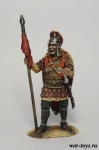Византийский воин, 8-9 век. - Оловянный солдатик коллекционная роспись 54 мм. Все оловянные солдатики расписываются художником в ручную