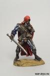 Охотник на чудовищ - Оловянный солдатик коллекционная роспись 54 мм. Все оловянные солдатики расписываются художником в ручную