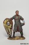 Норманнский рыцарь, 11 век - Оловянный солдатик коллекционная роспись 54 мм. Все оловянные солдатики расписываются художником в ручную