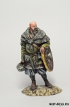 Ярл викингов 9-10 вв. - Оловянный солдатик коллекционная роспись 54 мм. Все оловянные солдатики расписываются художником в ручную