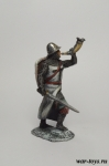 Ледовое побоище. Тевтонский трубач - Оловянный солдатик коллекционная роспись 54 мм. Все оловянные солдатики расписываются художником в ручную