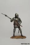 Английский латник 15 век. - Оловянный солдатик коллекционная роспись 54 мм. Все оловянные солдатики расписываются художником в ручную
