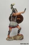 Греческий гоплит с мечом 75 мм - Оловянный солдатик коллекционная роспись 75 мм. Все оловянные солдатики расписываются художником в ручную