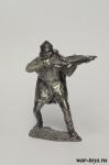Арбалетчик, Великое княжество Литовское, XIV-XV - Оловянный солдатик. Чернение. Высота солдатика 54 мм