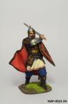 Рязанский воевода боярин Евпатий Коловрат, 1238 год - Оловянный солдатик коллекционная роспись 54 мм. Все оловянные солдатики расписываются художником в ручную