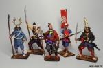 Набор оловянных солдатиков  - Самураи