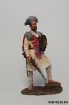 Абиссинец - Оловянный солдатик коллекционная роспись 54 мм. Все оловянные солдатики расписываются художником в ручную