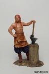 Скандинавский Кузнец 750 - Оловянный солдатик коллекционная роспись 54 мм. Все оловянные солдатики расписываются художником в ручную