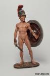 Древнегреческий Атлет-олимпиец, 5-2 вв до н.э. - Оловянный солдатик коллекционная роспись 54 мм. Все оловянные солдатики расписываются художником в ручную