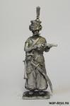 Мамелюк императорской гвардии Наполеона 1807-1813 года - Оловянный солдатик. Чернение. Высота солдатика 54 мм
