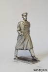 Гагарин Ю.А. - Оловянный солдатик. Чернение. Высота солдатика 54 мм