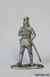 Офицер императорской армии, 1945 г. - Оловянный солдатик. Чернение. Высота солдатика 54 мм