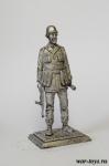 Сапер Африканского корпуса, Германия, 1942 г. - Оловянный солдатик. Чернение. Высота солдатика 54 мм