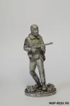 Танкист РККА, 1942 - Оловянный солдатик. Чернение. Высота солдатика 54 мм