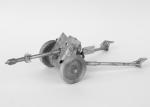 Пушка РАК 35/36 - Оловянная миниатюра. Чернение 54 мм