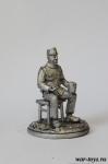 Бравый солдат, 1915 г. - Оловянный солдатик. Чернение. Высота солдатика 54 мм