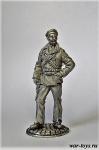 Матрос революции. 1917 г - Оловянный солдатик. Чернение. Высота солдатика 54 мм